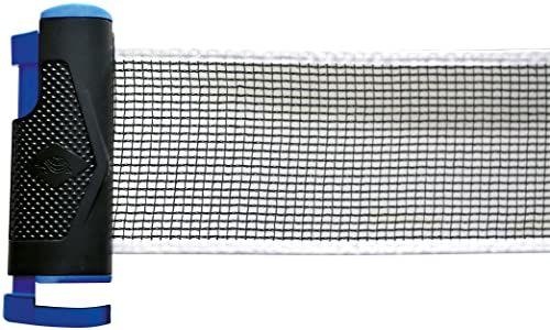 Donic-Schildkröt Pasuje do każdego stołu, w siatce do tenisa stołowego Carrybag, czarny, jeden rozmiar