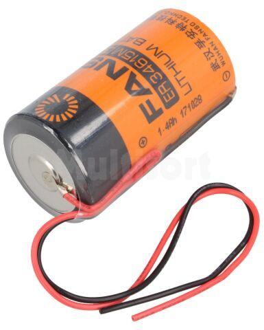Bateria litowa 3,6V D FANSO przewody fi34,2x61,5mm 13000mAh