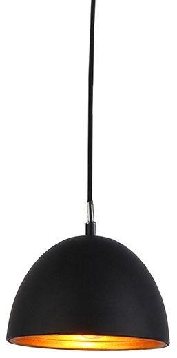 Lampa wisząca Modena 18 AZ1393 AZzardo minimalistyczna oprawa w kolorze czarnym