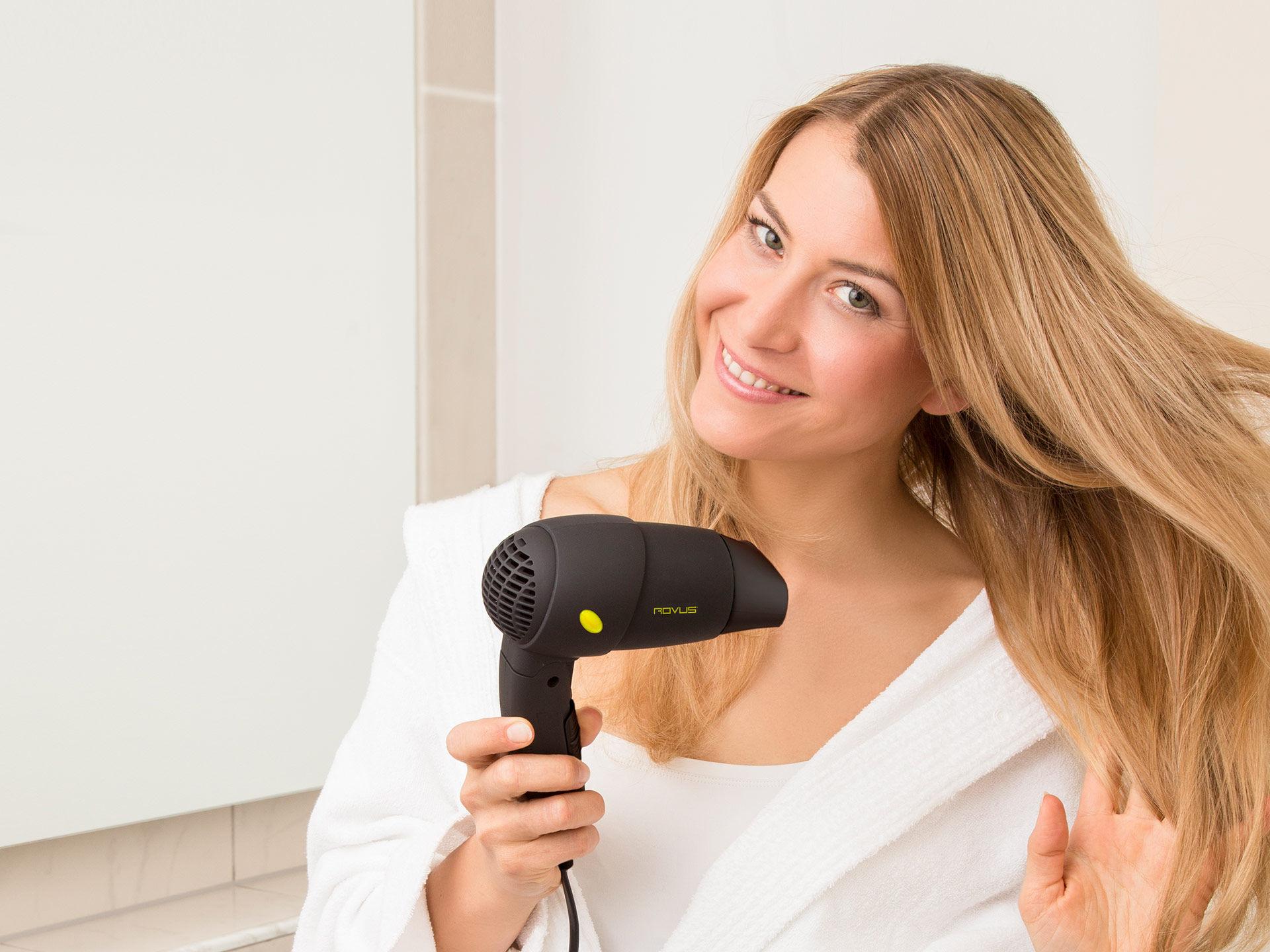 Składana suszarka do włosów
