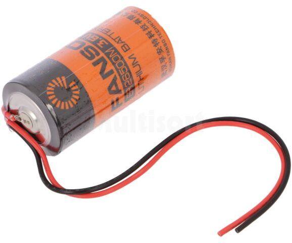 Bateria litowa 3,6V C FANSO przewody fi26x50,9mm 6000mAh