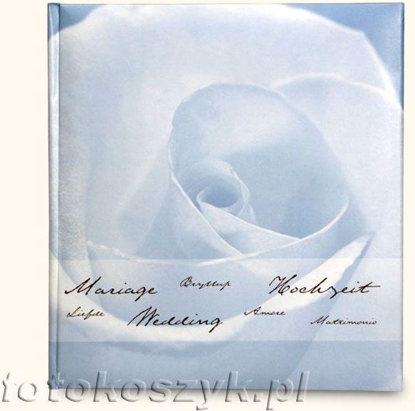 Album ślubny Henzo Fortune Niebieski (tradycyjny 60 białych stron)