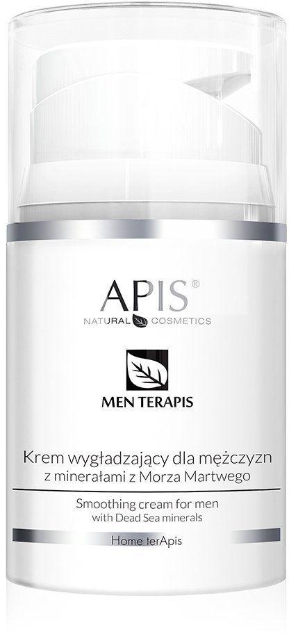 Krem wygładzający dla mężczyzn z minerałami z Morza Martwego Apis Men Terapis 50 ml