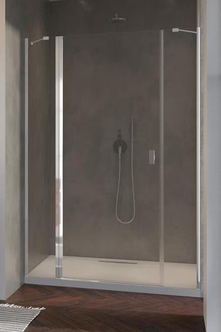 Radaway Nes DWJS drzwi wnękowe 120 cm lewe, szkło przejrzyste, wys. 200 cm. 10038120-01-01L
