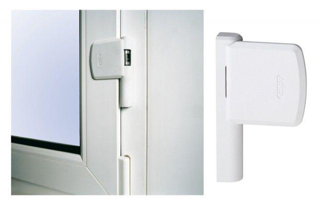 Blokada okienna Abus FAS 101 , biała