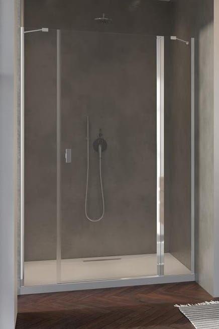 Radaway Nes DWJS drzwi wnękowe 120 cm prawe, szkło przejrzyste, wys. 200 cm. 10038120-01-01R