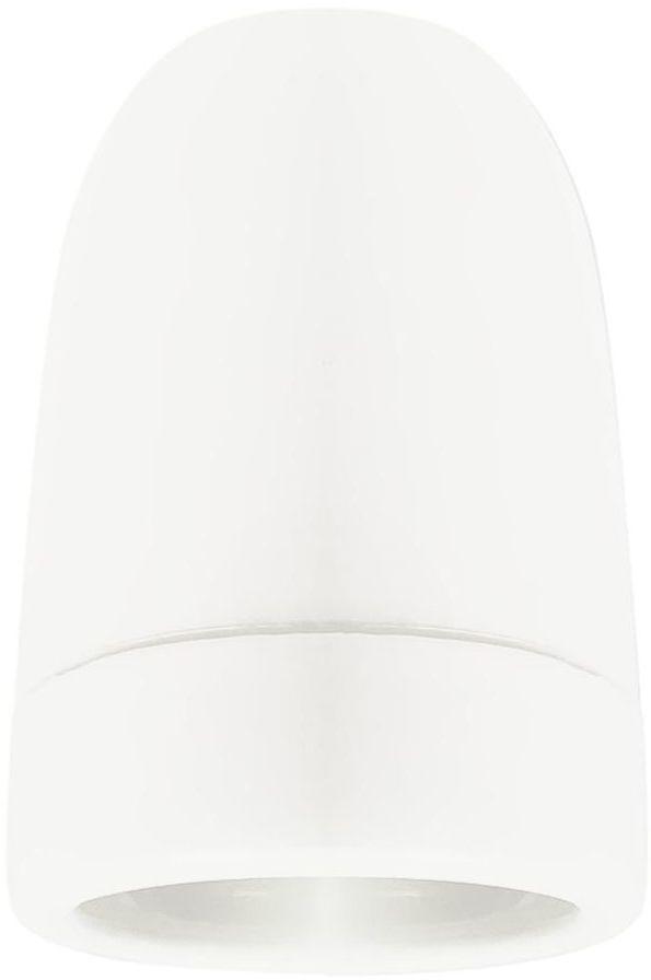 Oprawka CERAMICZNA E27 biała LH0301