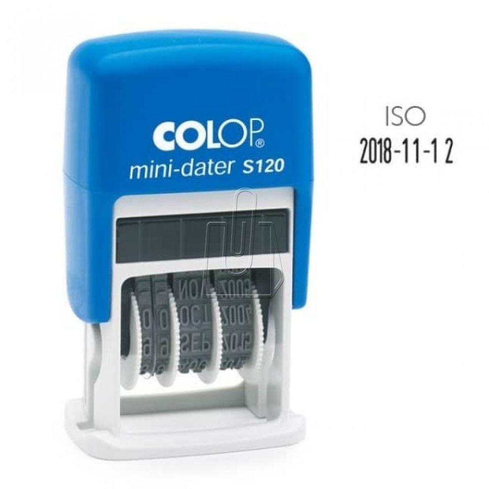 Datownik Colop ISO mini S120 Rabaty Porady Hurt Autoryzowana dystrybucja Szybka dostawa