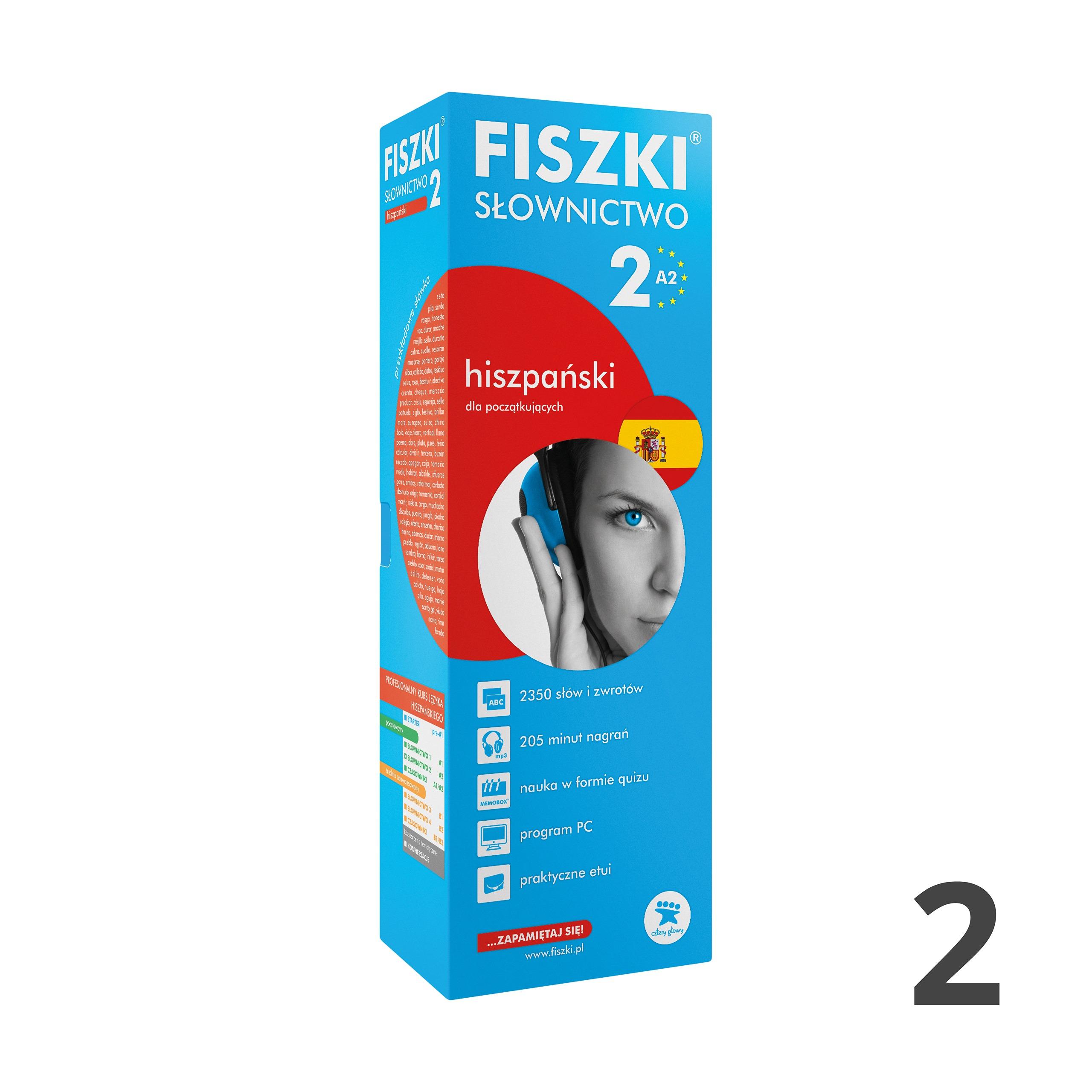 FISZKI - hiszpański - Słownictwo 2 (A2)