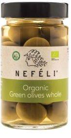 Oliwki zielone z pestką w zalewie BIO 300 g - NEFELI