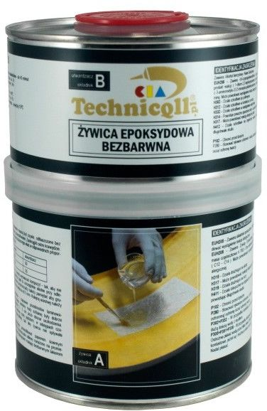 Żywica epoksydowa Technicqll 750 g bezbarwna