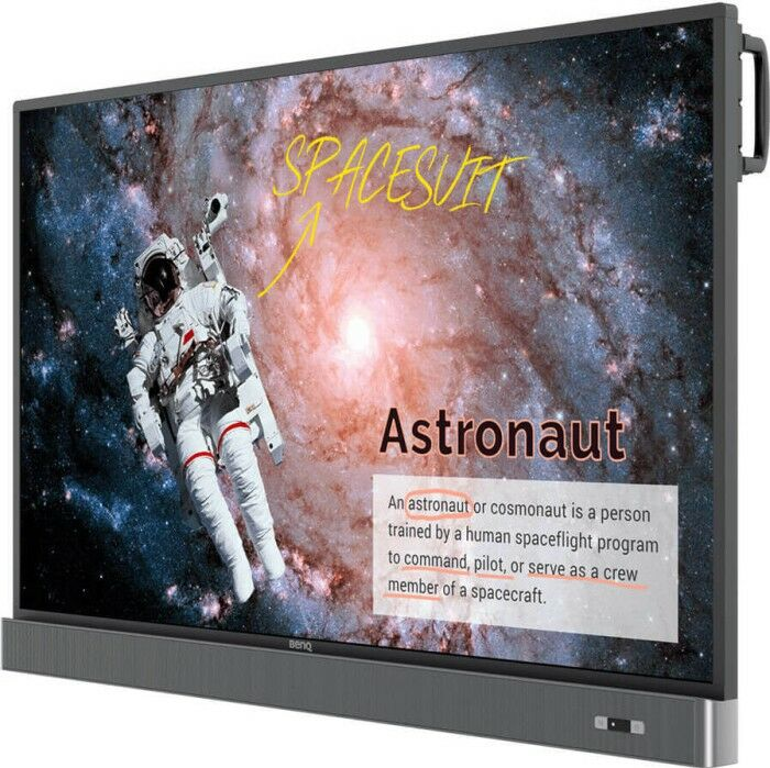 Interaktywny Monitor 4K UHD 86 BenQ RM7502K + UCHWYT i KABEL HDMI GRATIS !!! MOŻLIWOŚĆ NEGOCJACJI  Odbiór Salon WA-WA lub Kurier 24H. Zadzwoń i Zamów: 888-111-321 !!!