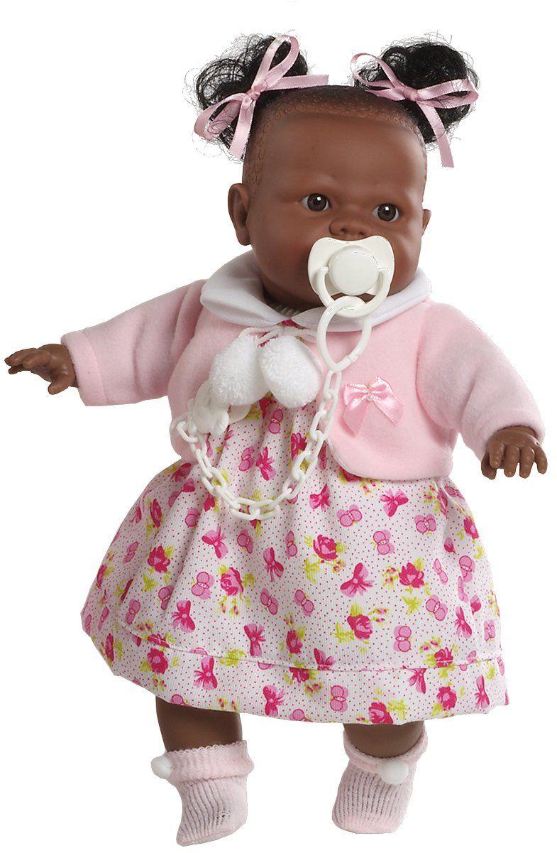 Berbesa 4352 Alicia Doll Cries to remove his smoczek, 38 cm, wielokolorowa