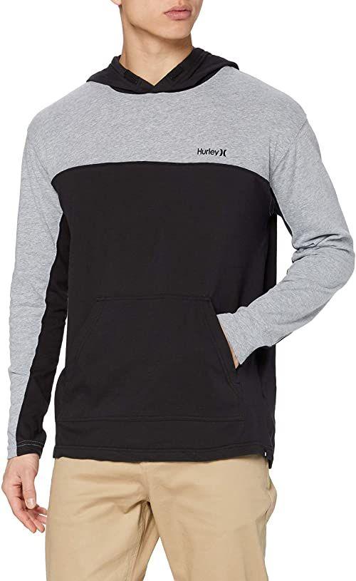 Hurley M Modern Surf Poncho Blocker T-Shirt czarny czarny XL