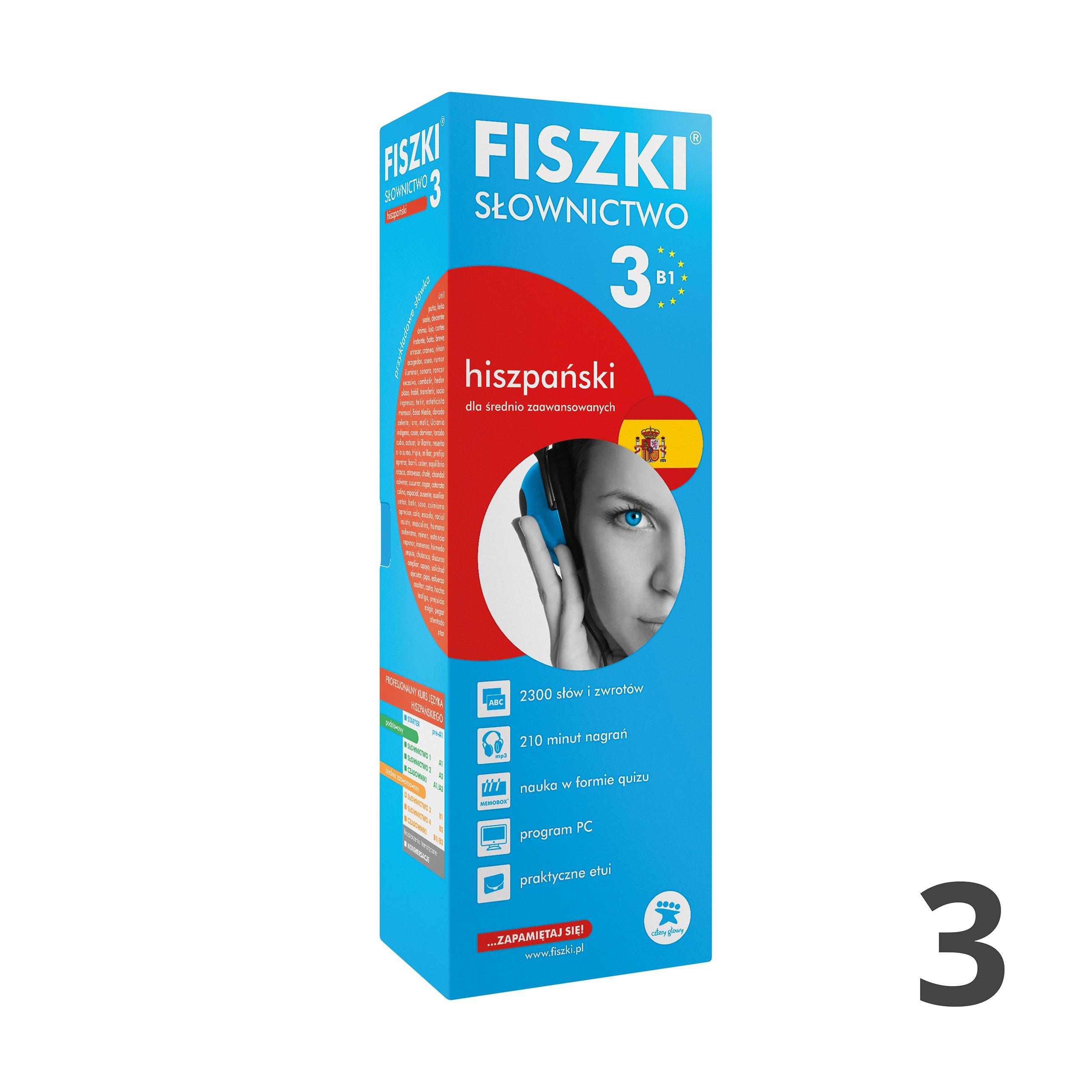 FISZKI - hiszpański - Słownictwo 3 (B1)