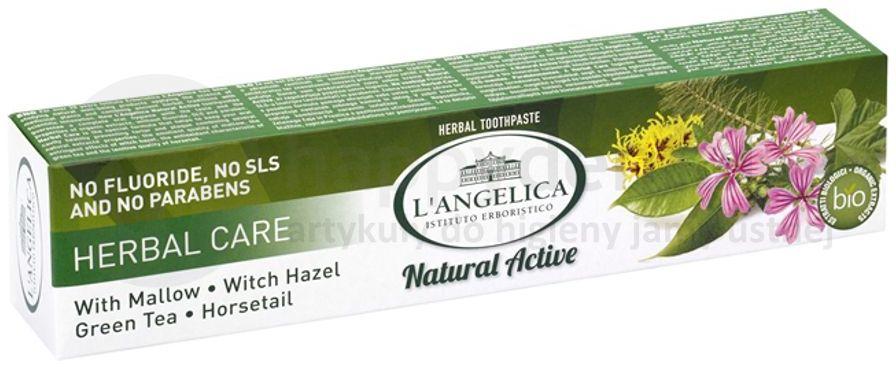 LANGELICA Ziołowa Ochrona pasta do zębów z naturalnymi ekstraktami roślinnymi 75ml