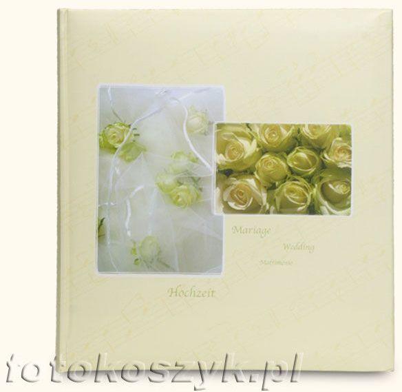 Album ślubny Henzo Attraction Złote Róże (tradycyjny 60 białych stron)