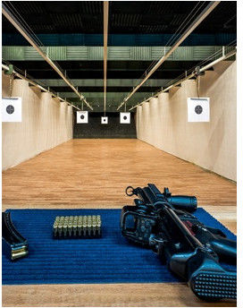 Strzelanie na strzelnicy  Warszawa