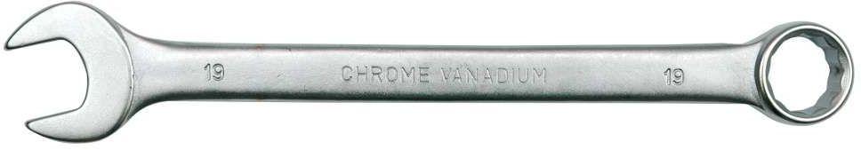 Klucz płasko-oczkowy c-v 19mm satyna Vorel 51684 - ZYSKAJ RABAT 30 ZŁ