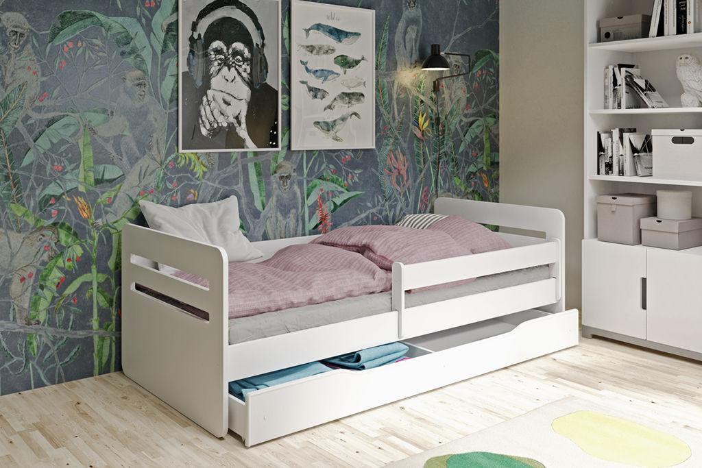 Łóżko dziecięce TOMI 160x80 białe