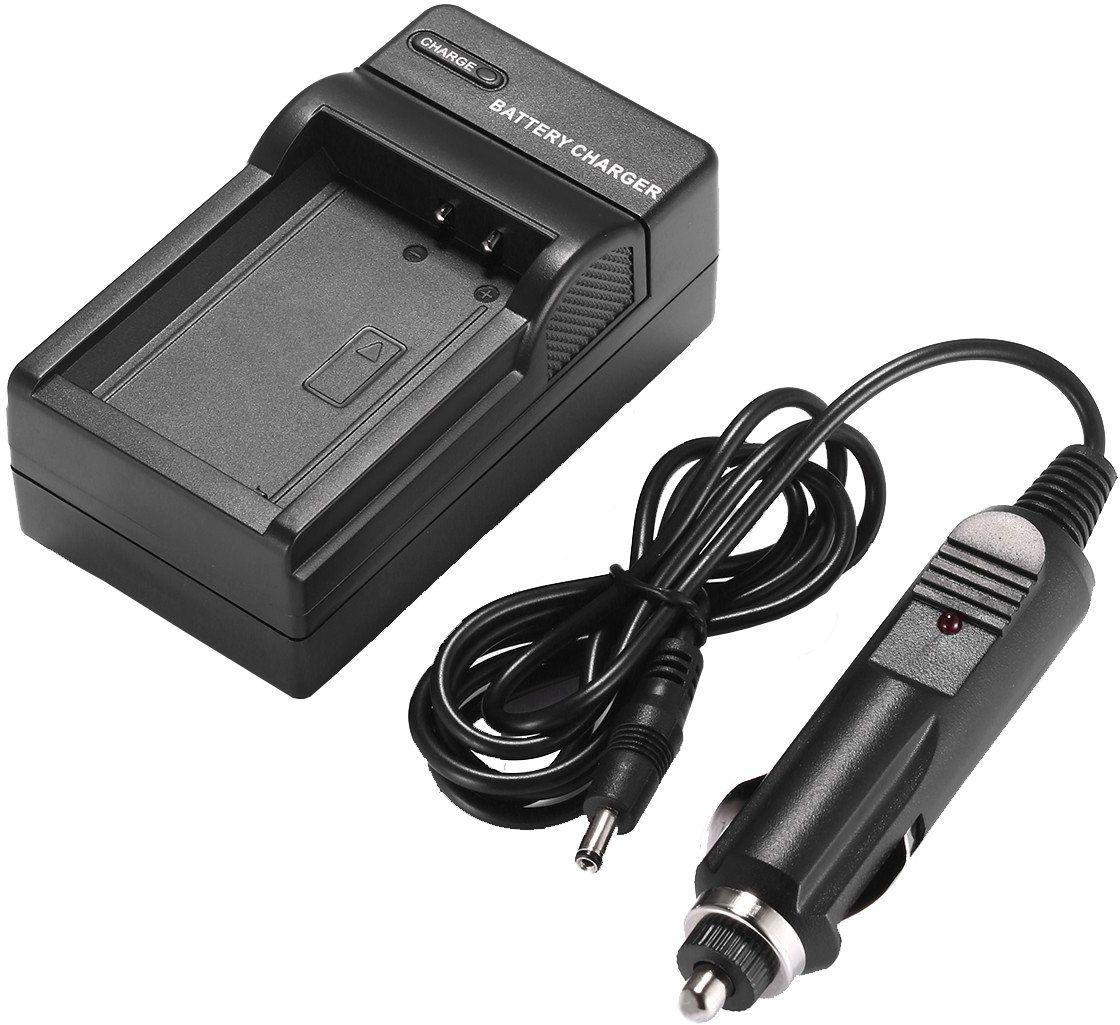 Amsahr cyfrowa zamienna mini ładowarka podróżna do kamery Casio Exilim EX-V7, NP50