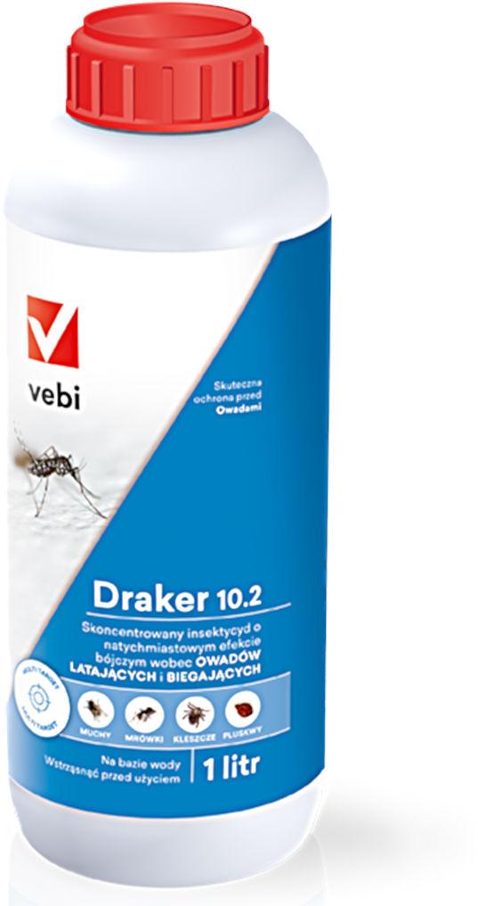 Draker 10.2. Środek owadobójczy. Insektycyd. 1l.