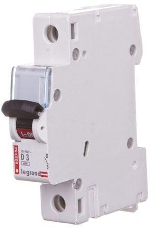 Wyłącznik nadprądowy 1P D 3A 6kA AC S301 TX3 403715