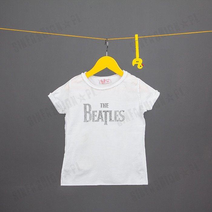 Koszulka amplified -beatles logo dmnte wht
