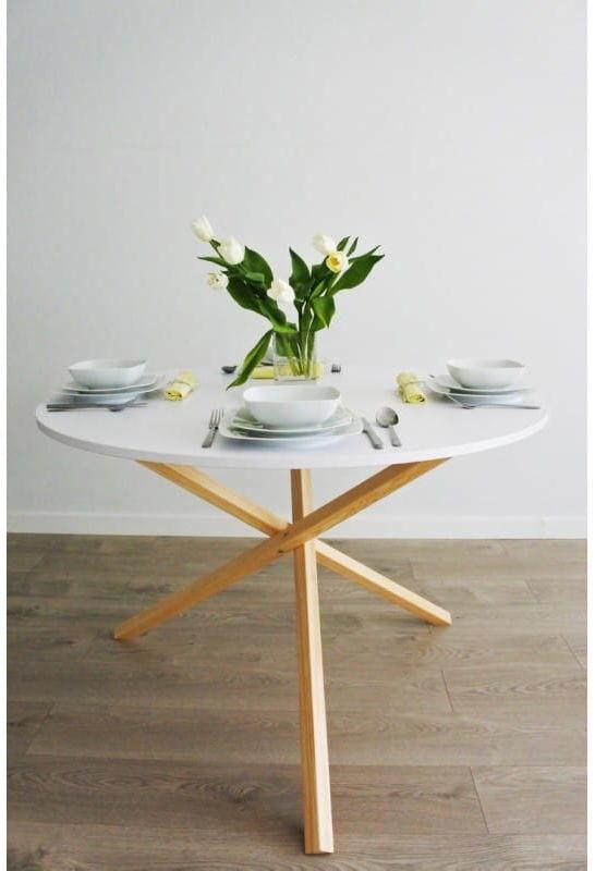 Oryginalny stół do jadalni TRIPLE-100 - 100x75cm