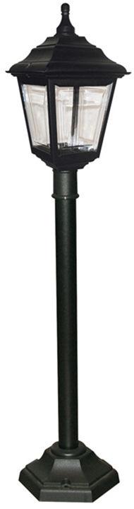 Lampa stojąca zewnętrzna Kerry PILLAR Elstead Lighting czarna oprawa w klasycznym stylu
