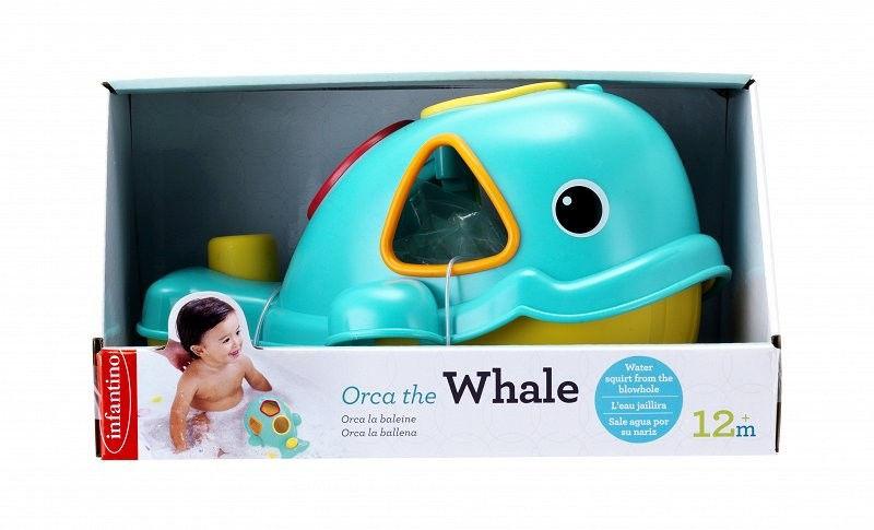 Kąpielowy sorter wieloryb Infantino