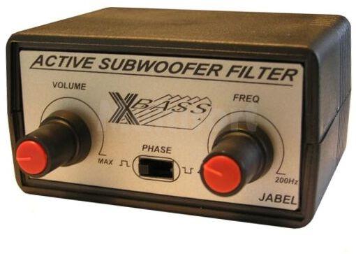 Aktywny filtr niskotonowy do subwoofera (do montażu)