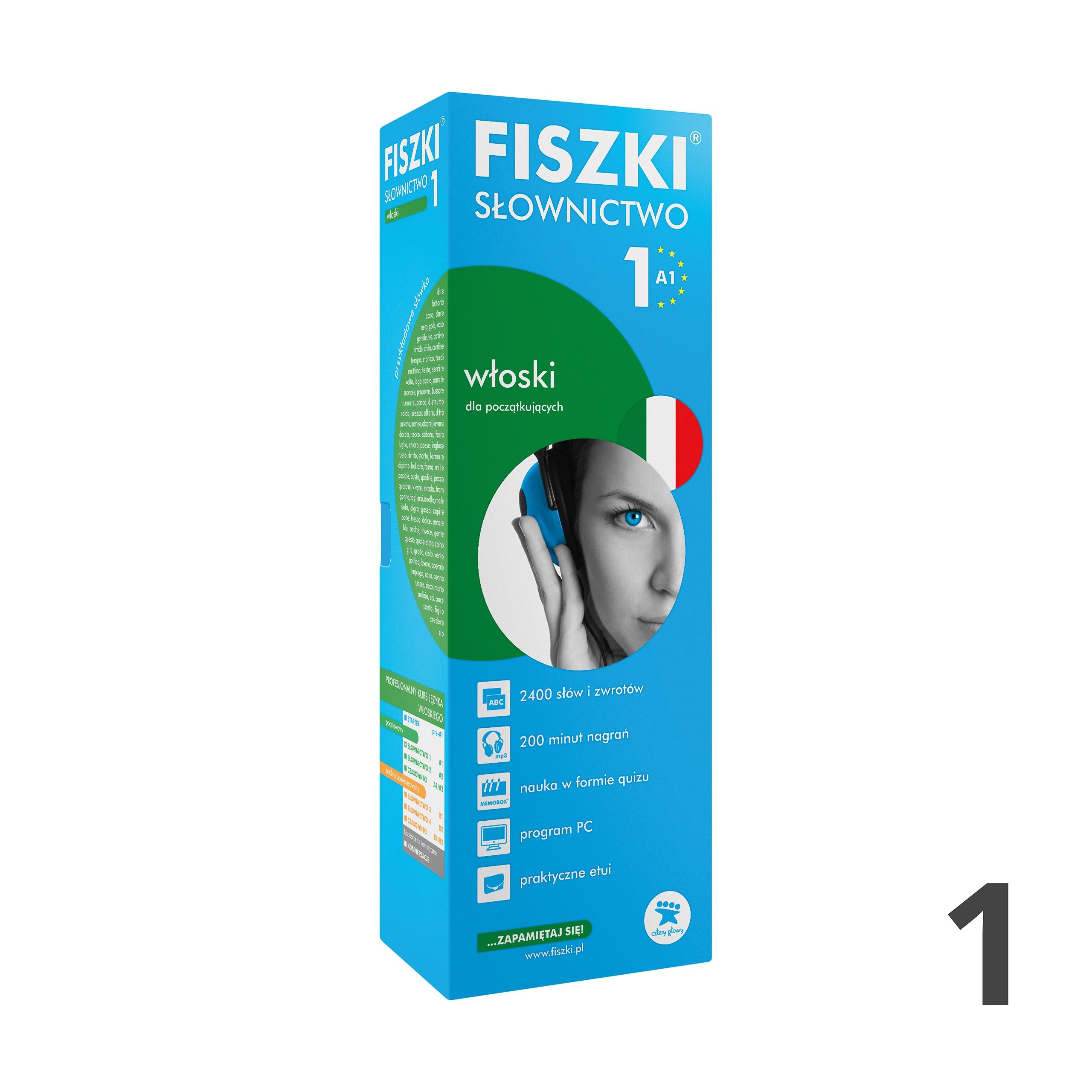 FISZKI - włoski - Słownictwo 1 (A1)
