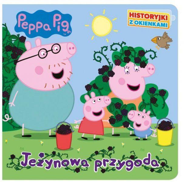 Świnka Peppa Historyjki z okienkami Jeżynowa przygoda