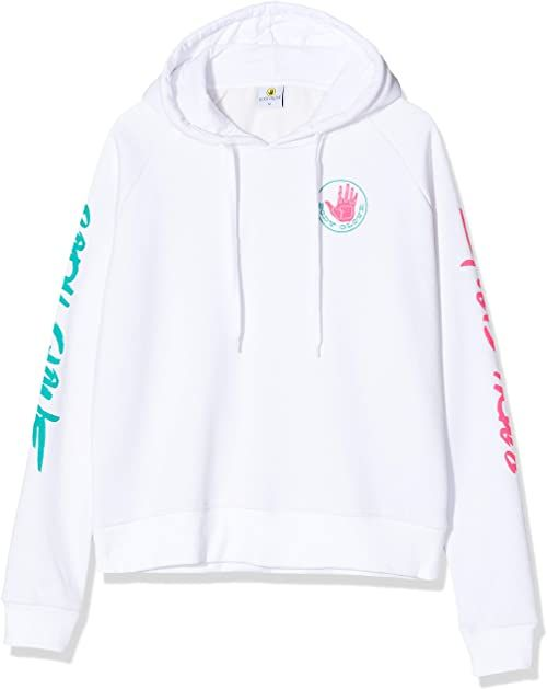 Body Glove Rewind Hood bluza z kapturem, damska, biała, S