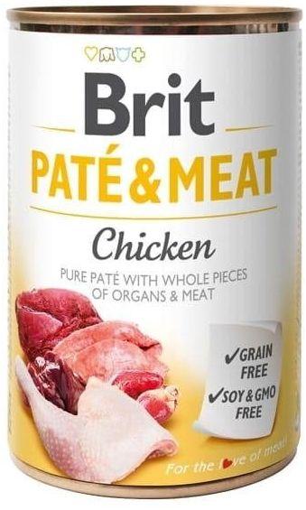 Brit Pate&Meat 400g Chicken