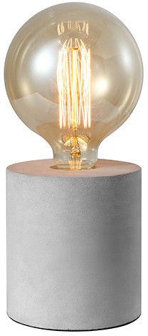 Lampa stołowa Volta AZ2372 AZzardo betonowa oprawa w kolorze szarym
