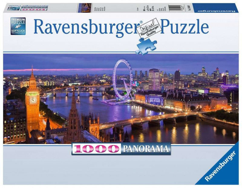 Puzzle 1000 elementów Panorama Londyn nocą (GXP-761327)