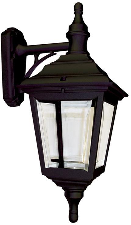 Kinkiet zewnętrzny Kerry WALL Elstead Lighting czarna oprawa w klasycznym stylu