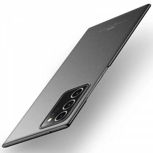 Etui MSVII Galaxy Note 20 Ultra, matowe czarne