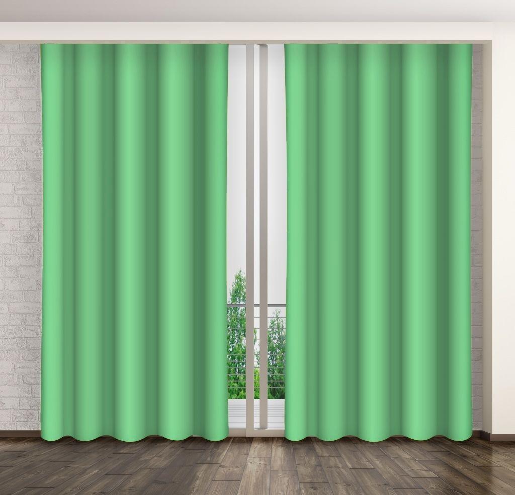 Zasłona dekoracyjna zielona ZMA-47 Mariall