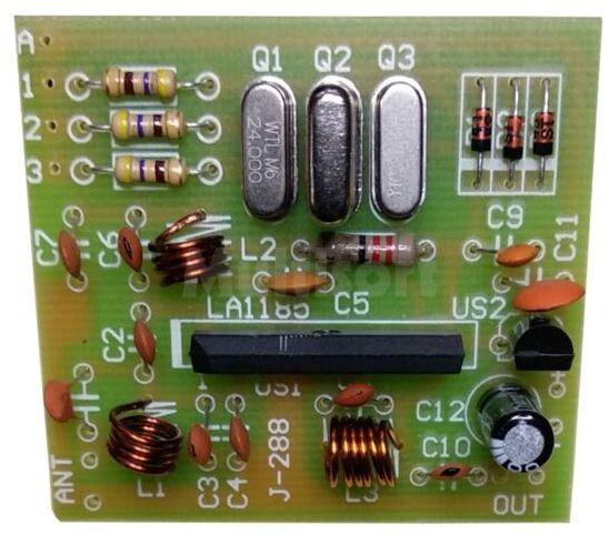 3-zakresowy konwerter CCIR/OIRT na pasmo 88-108MHz (do montażu)