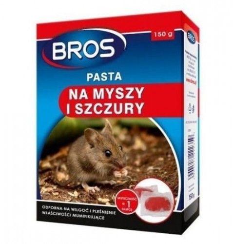 Bros Pasta na myszy i szczury 150g