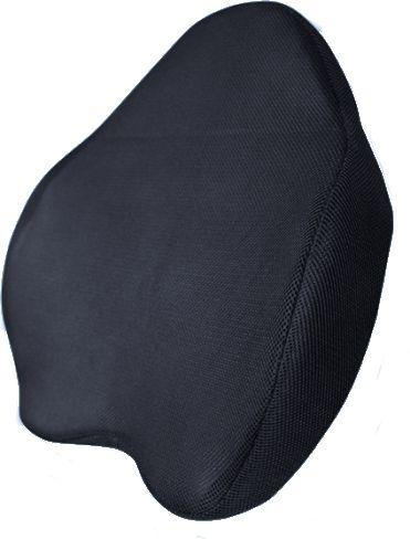 WYSOKA Poduszka lędźwiowa z pamięcią kształtu - ODDYCHAJĄCY materiał (MFP-5344)