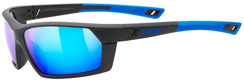 Okulary Uvex Sportstyle 225 - black / blue mat