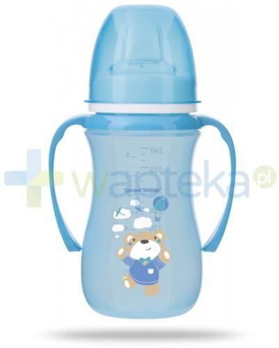Canpol Babies EasyStart Sweet fun kubek treningowy 6m+ niebieski miś 240 ml [35/208]