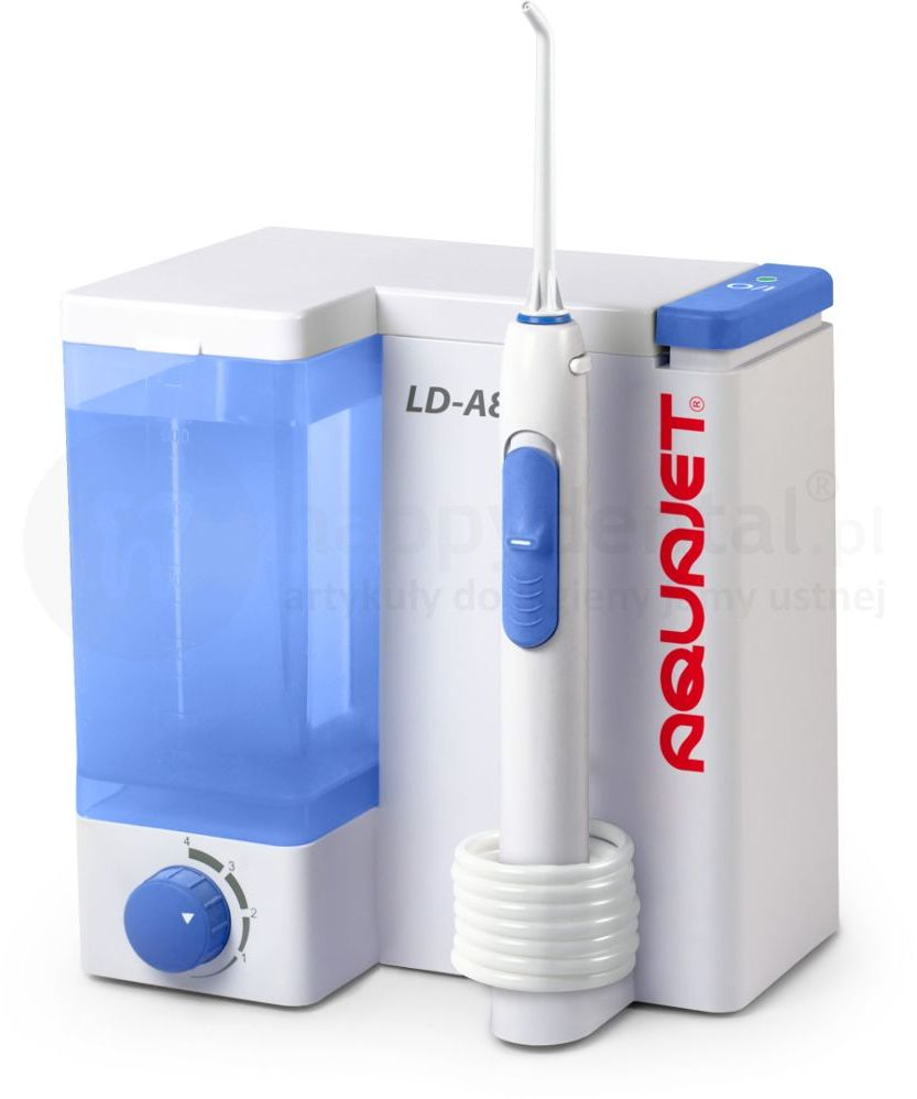 AQUAJET LD-A8 ADULT - irygator stacjonarny do pielęgnacji jamy ustnej + 5 końcówek
