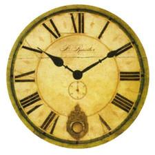 Zegar MDF gigant 58cm wahadło