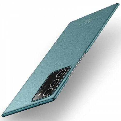 Etui MSVII Galaxy Note 20 Ultra, matowe zielone