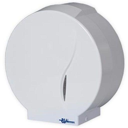 Pojemnik na papier toaletowy Bisk MASTERLINE Midi plastik biały